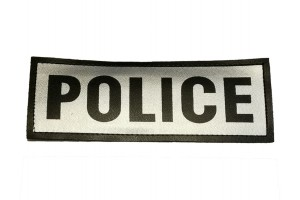 POLICE vinyl hook patch