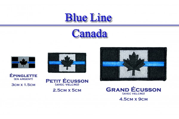 Blue Line Canada flag and others