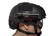 Helmet Flashlight U Clip
