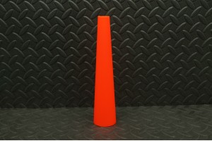 Cône orange de signalisation (37mm)