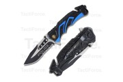 POLICE folding rescue knife