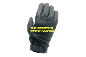Cut resistant winter gloves - NYPD
