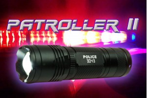 Ensemble pile rechargeable et lampe Patroller II