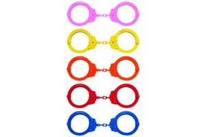 750c Colored Peerless Handcuffs