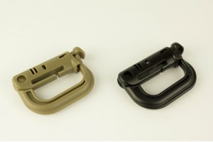 Tactical locking carabiner