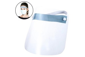 Anti contamination face shield visor