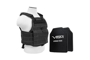 Ballistic plates and carrier kit